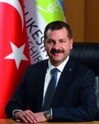 Yücel YILMAZ Balıkesir Büyükşehir Bld. Bşk.