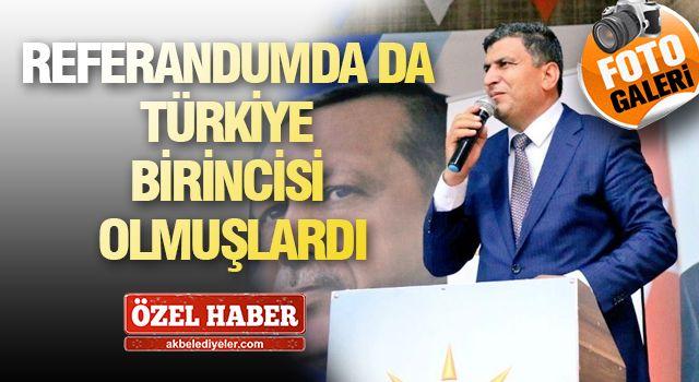 """HARRAN """"BAŞKAN ÖZYAVUZ İLE YOLA DEVAM"""" DEDİ"""