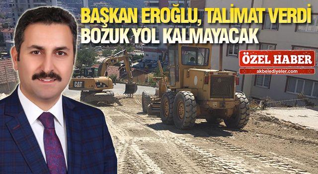 TOKAT'TA YENİ YOLLAR YAPILIYOR