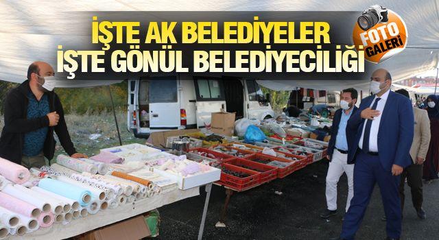 AZİZİYE'DE ESNAFIN TALEBİ KARŞILANDI