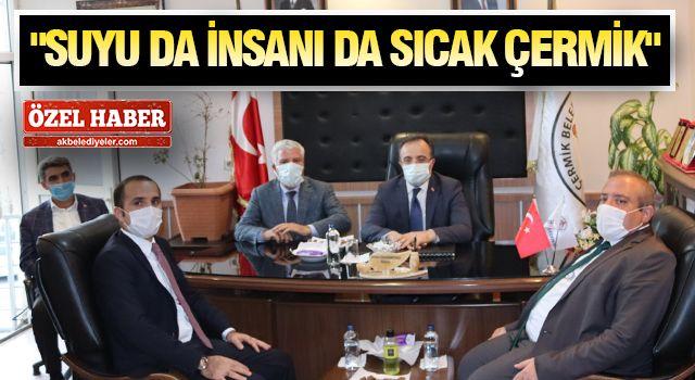 BAKAN YARDIMCISI ÇATAKLI ÇERMİK'TE