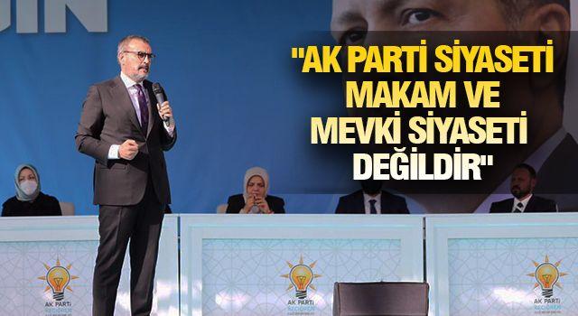 ÜNAL, AK PARTİ'Yİ ÖZETLEDİ