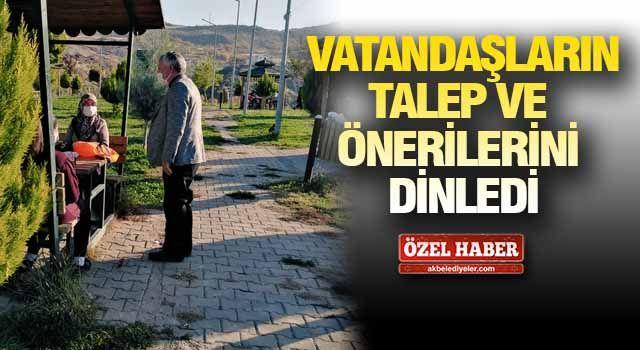 Başkan Karamehmetoğlu hafta sonu yine sahadaydı