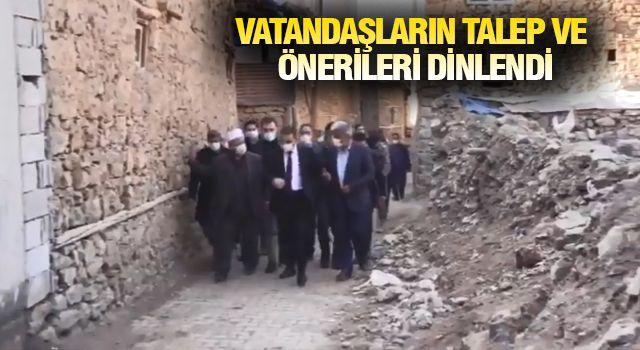 Başkan Cellek Vali Hacıbektaşoğlu'na temaslarında eşlik etti