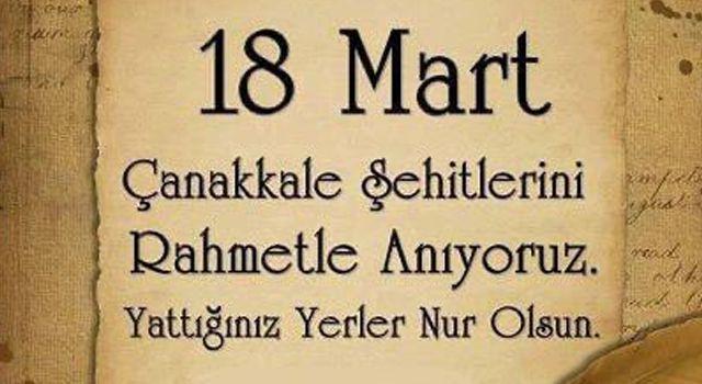 Başkan Taşdemir'den 18 Mart Çanakkale Zaferi Mesajı
