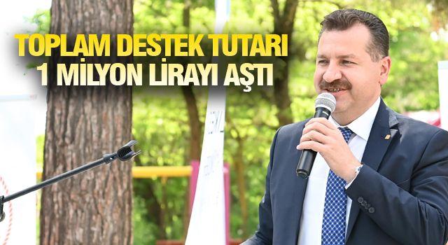 BALIKESİR'DE ÜRETİCİYE DEV DESTEK