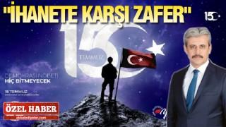 Başkan Köse'den 15 Temmuz Mesajı