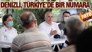 BAŞKAN ZOLAN: DENİZLİ, TÜRKİYE'DE BİR NUMARA