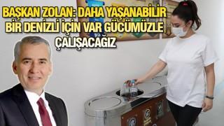 """DENİZLİ'DE """"SIFIR ATIK"""" DÖNEMİ BAŞLADI"""