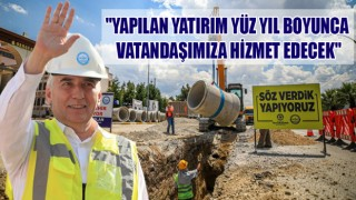 DENİZLİ'DE ALTYAPI ÇALIŞMALARINA TAM NOT!
