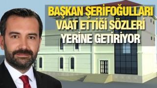 ELAZIĞ'A BELEDİYE HİZMET BİNASI YAPILIYOR