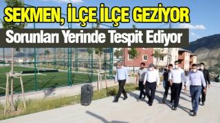 Erzurum'da yoğun mesai sürüyor