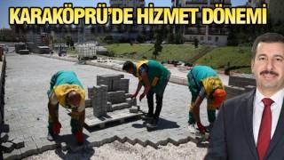 KARAKÖPRÜ'YE YENİ YOLLAR KAZANDIRILIYOR