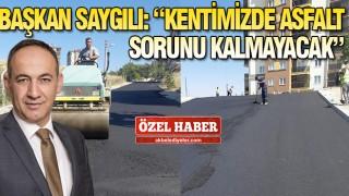 KIRIKKALE'DE ASFALT SEFERBERLİĞİ BAŞLATILDI