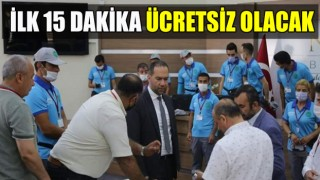 NİĞDE'DE PARKOMAT UYGULAMASI BAŞLADI