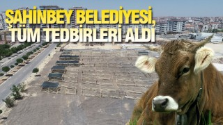 Gaziantep'te Şahinbey Belediyesi bayram hazırlıklarını tamamladı