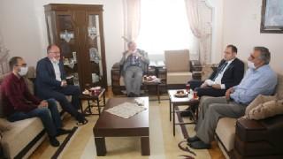 Sivas'ta Başkan Bilgin'den anlamlı ziyaret