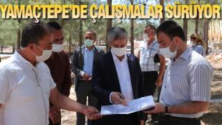 Tahmazoğlu, Yamaçtepe'deki Çalışmaların Takipçisi