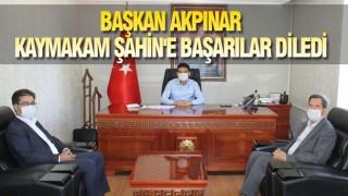 BAŞKAN AKPINAR'DAN ANLAMLI ZİYARET