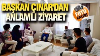 Başkan Çınar'dan Şehit Ailelerine Bayram Ziyareti