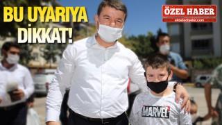 BAŞKAN DİNÇER'DEN UYARI!