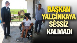 Başkan Yalçınkaya'dan engelli çocuğa akülü tekerlekli sandalye