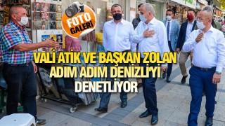 DENİZLİ'DE YÜKSEK YOĞUNLUKLU DENETİM!