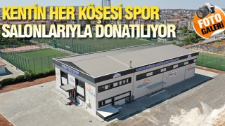 GAZİANTEP'TE SPOR ALTYAPISINA BÜYÜK YATIRIM