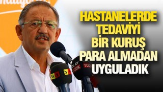 ÖZHASEKİ SAĞLIK POLİTİKASINI DEĞERLENDİRDİ