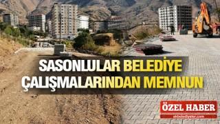 SASON BELEDİYESİ'NE DURMAK YOK