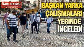ŞIRNAK'TA KENT MEYDANI YAPILIYOR