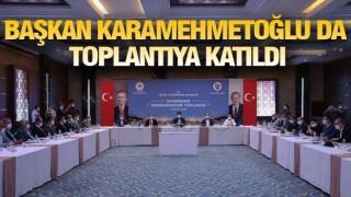 Başkan Karamehmetoğlu Çermik için destek istedi