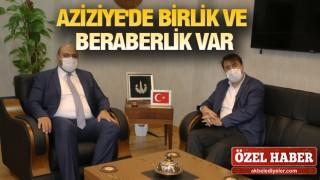 Başkan Orhan Vekil Aydemir'e çalışmaları aktardı
