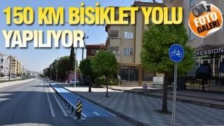 GAZİANTEP'E YENİ BİSİKLET YOLLARI