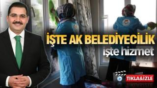 Haliliye'de Çınarları unutmayan evde bakım hizmeti
