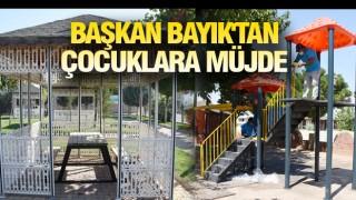 HİLVAN'DA YENİ PARKLAR YAPILIYOR