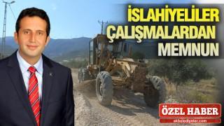 İSLAHİYE'DE VERİMLİ ÇALIŞMA DÖNEMİ