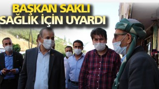 Şemdinli'de Başkan Saklı denetimlere katıldı