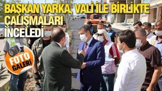 ŞIRNAK'TA ÇALIŞMALAR TAM GAZ