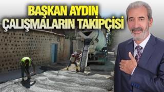 SİVEREK'TE ÇALIŞMALAR HIZ KAZANDI