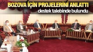Başkan Suphi Aksoy Bozova için çalışıyor