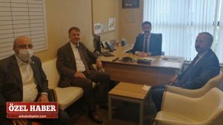 Başkan Cezmi Ergül, Hamur'daki çalışmaları aktardı
