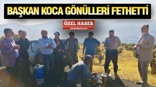 Başkan Murat Koca talep ve önerileri dinledi