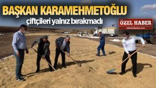 ÇERMİK'TE ÇELTİK HASADI BAŞLADI