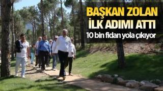 DENİZLİ'DEN HATAY'A 10 BİN FİDAN