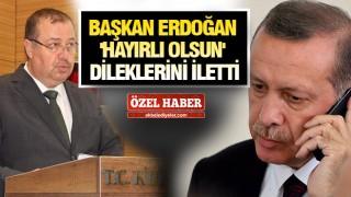 KİLİS'TE YENİ BAŞKAN SERVET RAMAZAN