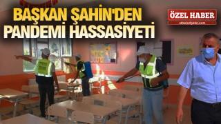 MİDYAT'TA OKULLAR DEZENFEKTE EDİLDİ