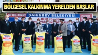 ŞAHİNBEY'DE ÜRETİCİYE TAM DESTEK