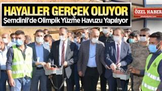 ŞEMDİNLİ'YE EN GÜZEL HİZMET