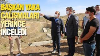 ŞIRNAK'TA ÇALIŞMALARA HIZ VERİLDİ